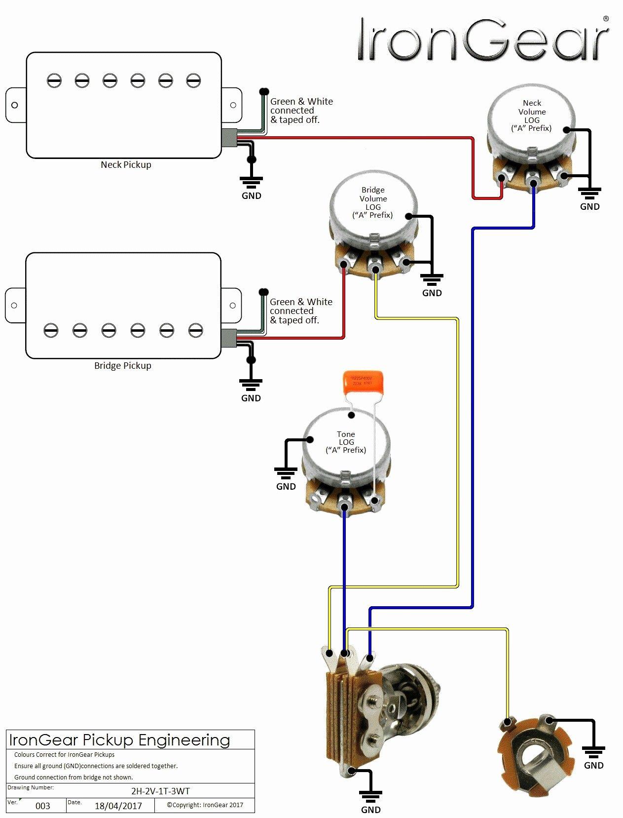 Unique Guitar Wiring Diagram 1 Humbucker 1 Volume diagram