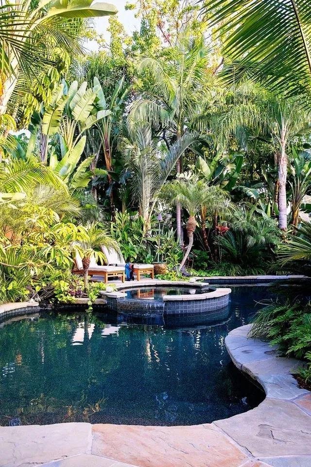 10+ Impressive Tropical Pool Design Ideas - Fresh4Home