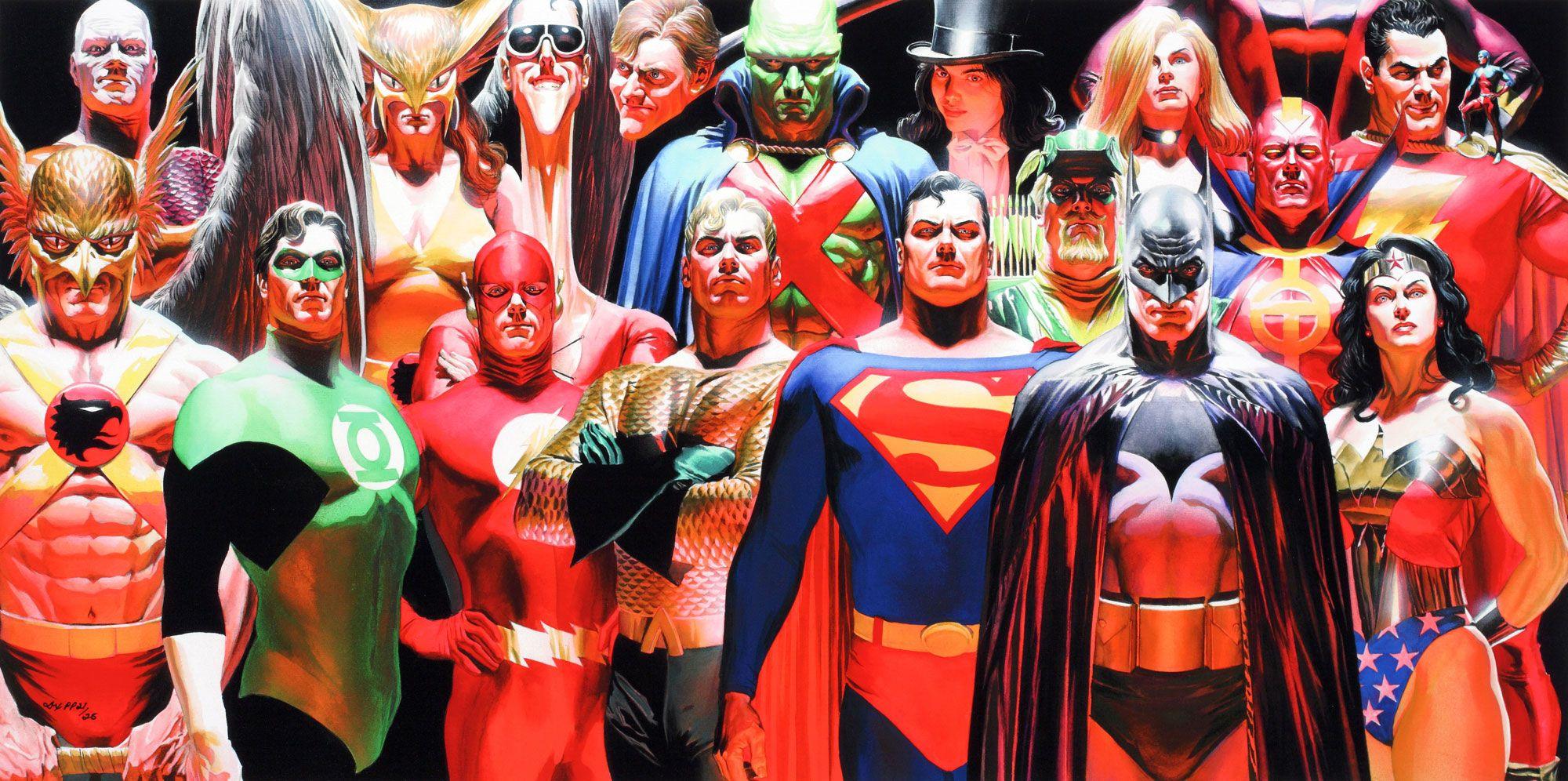 Justice League Dc Comics Superheroes Wallpapers: Superheroes Wallpapers HD Group × DC Superheroes