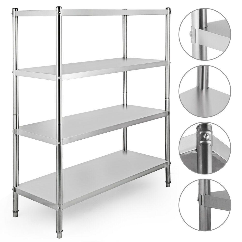 ebay sponsored stainless steel kitchen shelf shelving rack laundry rh pinterest com