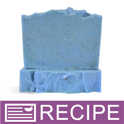 Blueberry Cold Process Soap | Lotions and Potions | Cold