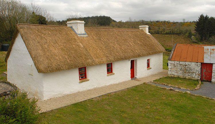 thatched cottage for sale cloodrumman beg cottage fenagh co rh pinterest ca