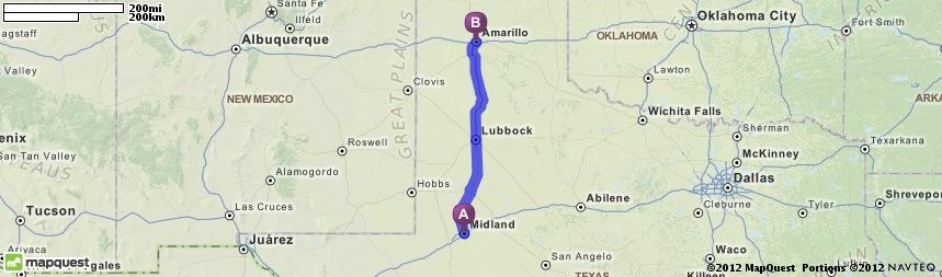 driving directions from midland texas to amarillo texas mapquest rh pinterest com