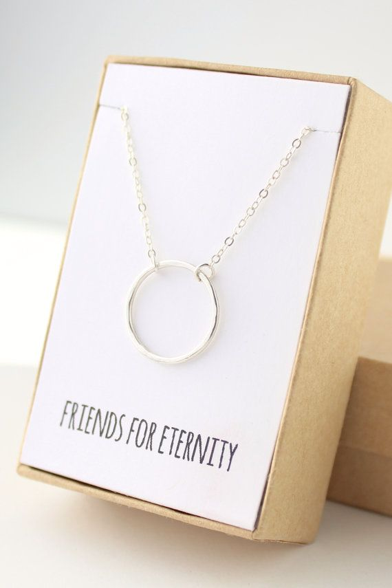 75587fc6758a10 ••Please review description and shipping & policies tab before checking out  Circle Necklace,
