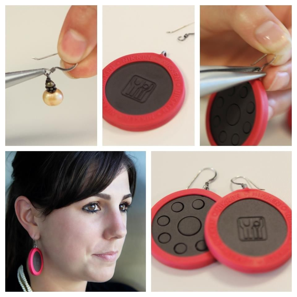 DIY PowerChip earrings! How do you get creative with your #PowerChip?