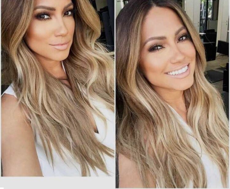 Ombre/balayage on Jennifer Lopez