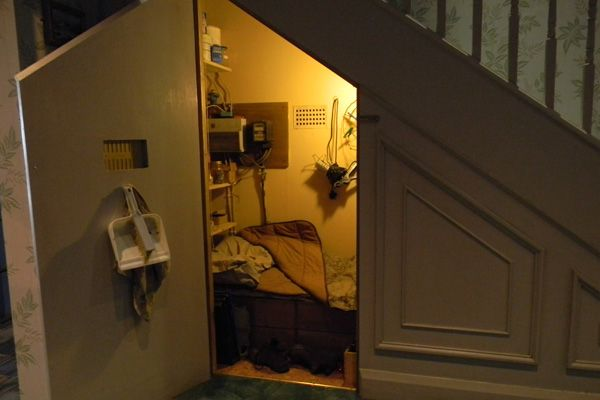 The Making Of Harry Potter Under Stairs Cupboard Making Of Harry Potter Under Stairs