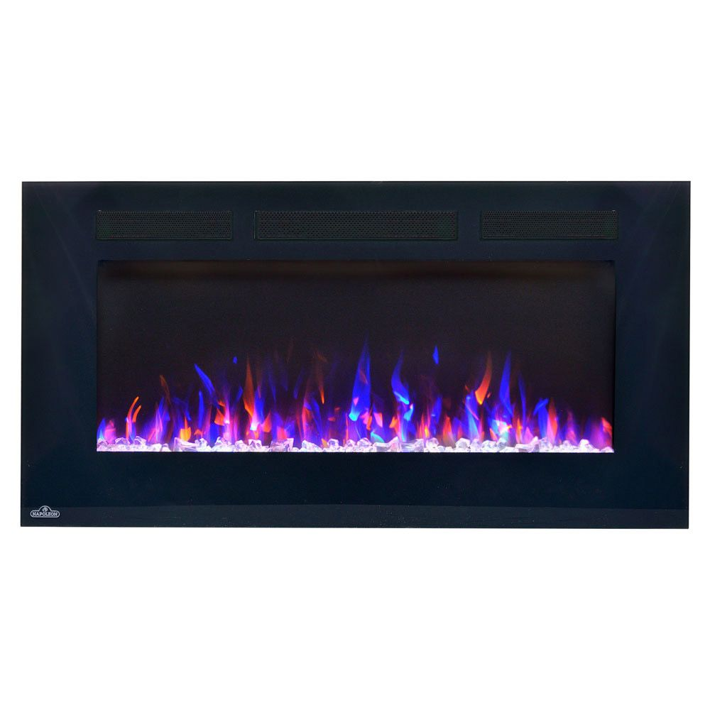 napoleon 50 in allure wall mount electric fireplace nefl50fh wall rh pinterest com