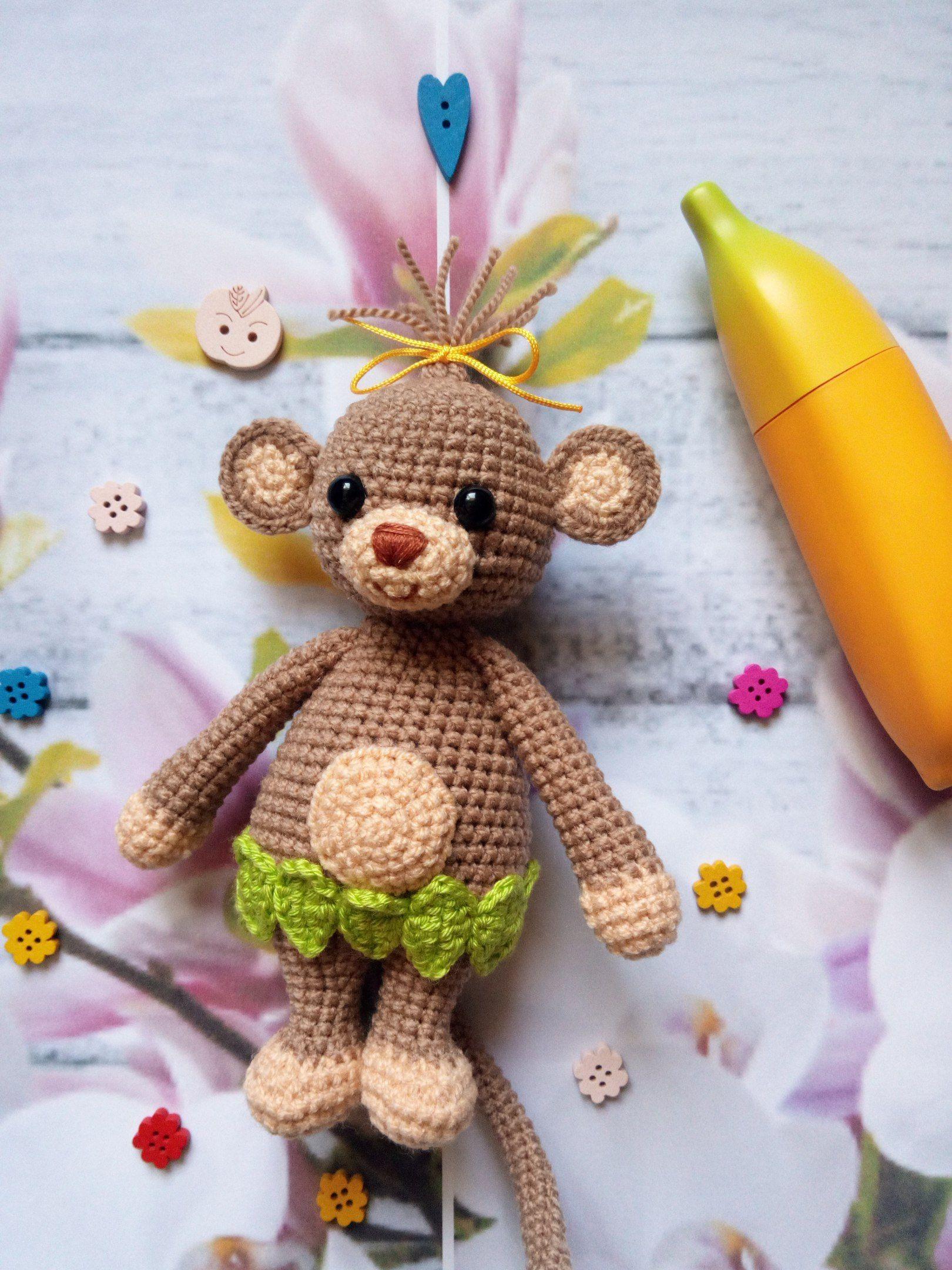 Cuddle Me Monkey amigurumi pattern | Pinterest | Kinderspielzeug ...