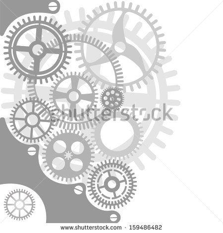 gear template - Google Search | Gears, Clocks, Keys Silhouettes ...