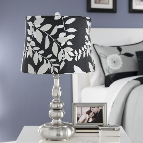 Silver Leaf Touch Lamp | Colors Black & White | Pinterest ...