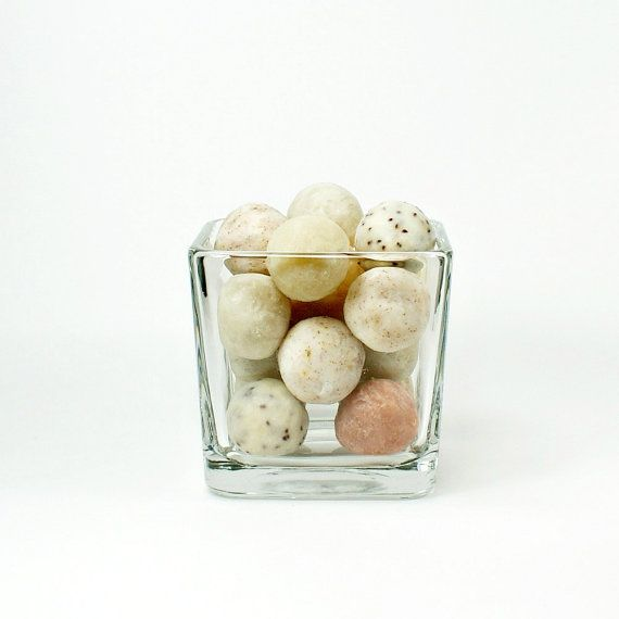 Decorative Soap Balls Gorgeous Soap Balls In Neutral Colors  Over 8 Ounces Of Soap  Colored Inspiration Design
