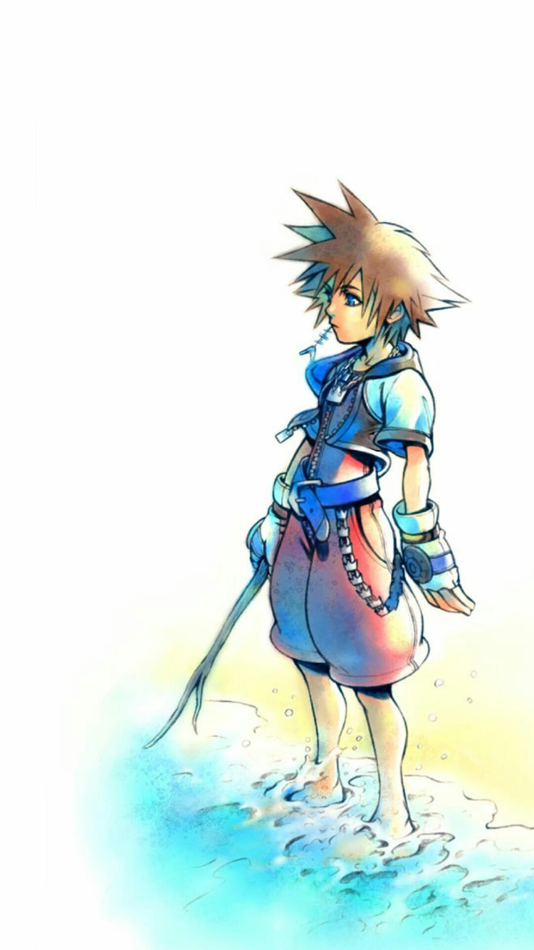 Pin by dez on ★ WALLPAPERS ★ Roxas kingdom hearts, Sora
