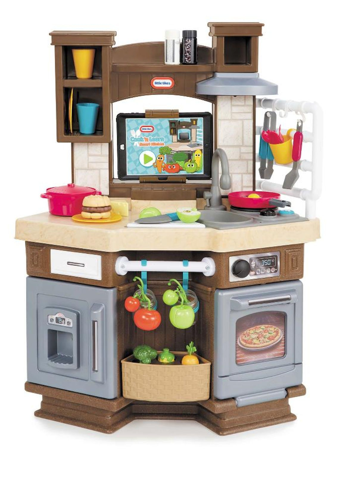 little tikes cook n learn tm smart kitchen playset second rh pinterest at