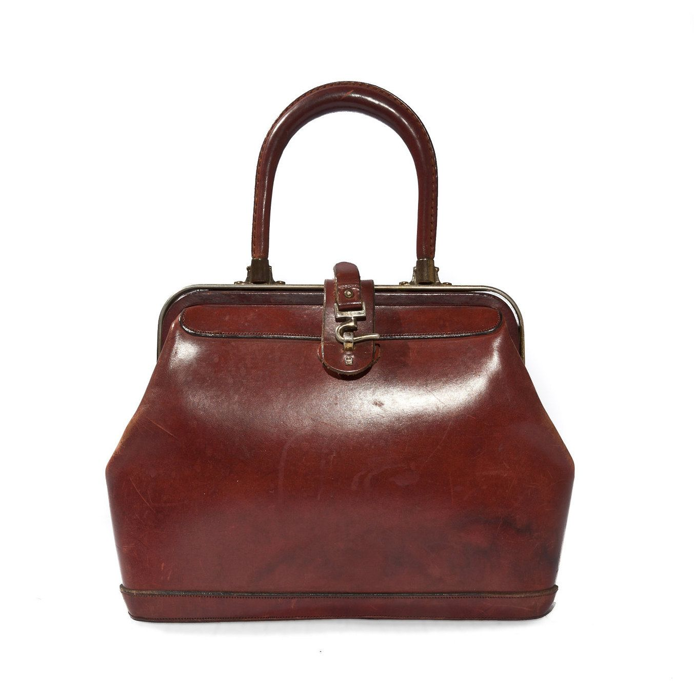 presenting multiple colors amazon Vintage Etienne Aigner Leather Handbag Purse in Oxblood ...