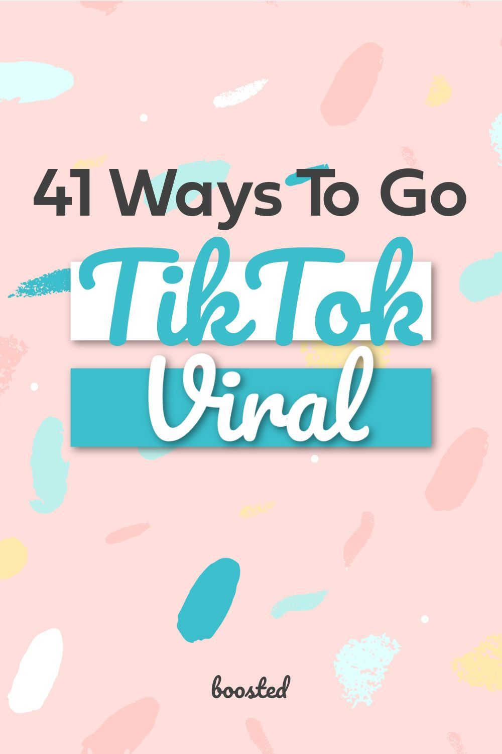 41 Tiktok Video Ideas For Small Businesses Boosted Video Marketing Strategies Business Marketing Plan Marketing Strategy Social Media
