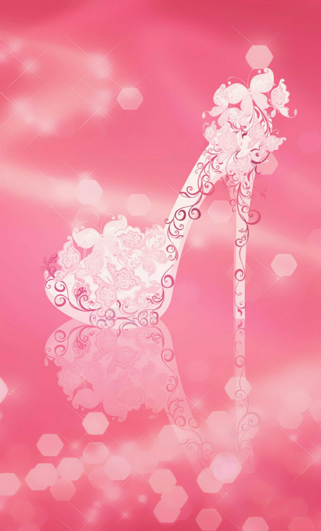 High Heel On Pink Wallpaper By Artist Unknown Phone Wallpaper Images Cute Girl Wallpaper Wallpaper