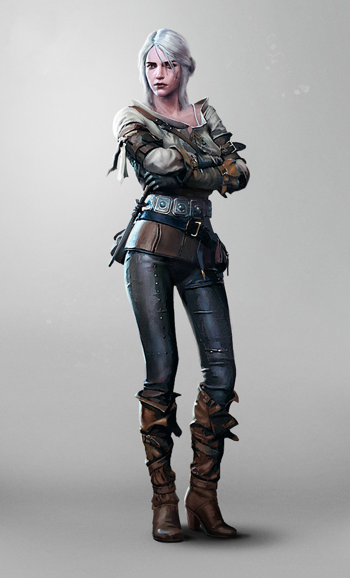 The Witcher 3 Personnage : witcher, personnage, 1418735250-the-witcher-3-wild-hunt-ciri-woman.jpg, (1400×2308), Female, Characters,, Witcher,, Witcher