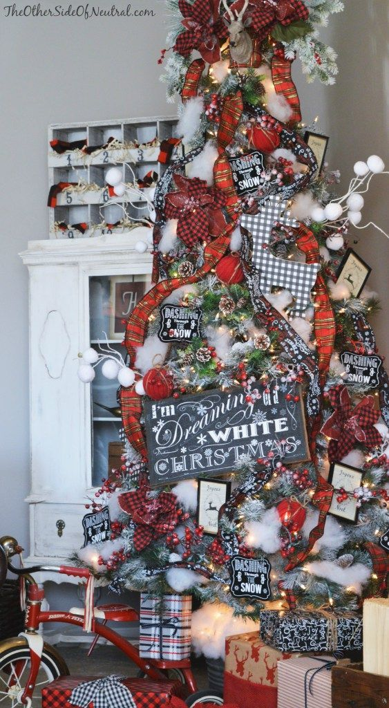 Pin de curso de organizacion del hogar en arboles de - Decoracion navidad moderna ...