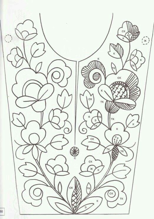 Resultado de imagen para patrones de bordados mexicanos | Bordado ...