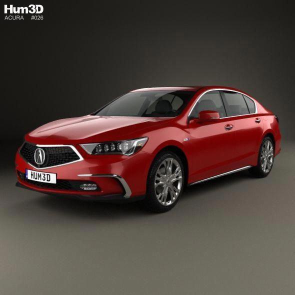 75+ 2018 Acura Rlx Sport Hybrid Sh Awd For Sale