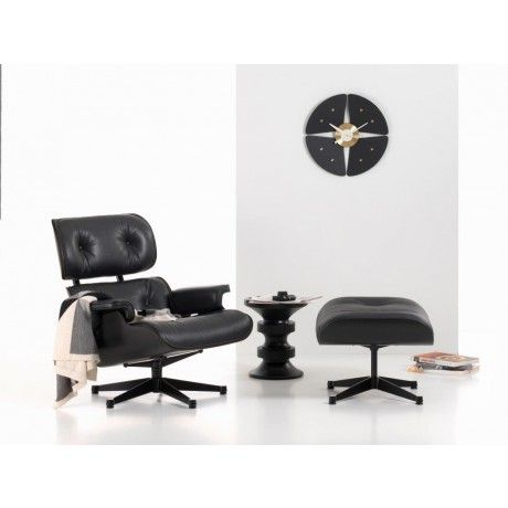 Eames Lounge Chair & Ottoman SCHWARZ Vitra