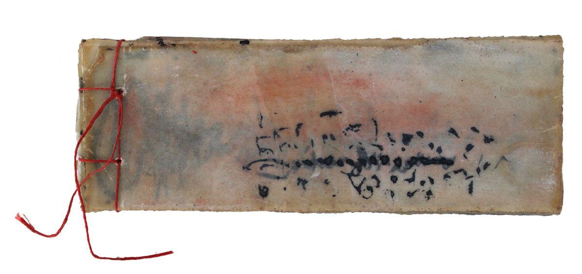 Beata Wehr, Book 119, well hidden text, 2013