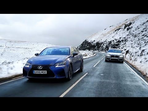 lexus gs f vs bmw m5 chris harris drives top gear videos rh pinterest co uk