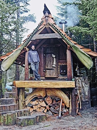 tiny homes simple shelter tiny houses sauna house bohemian rh pinterest com