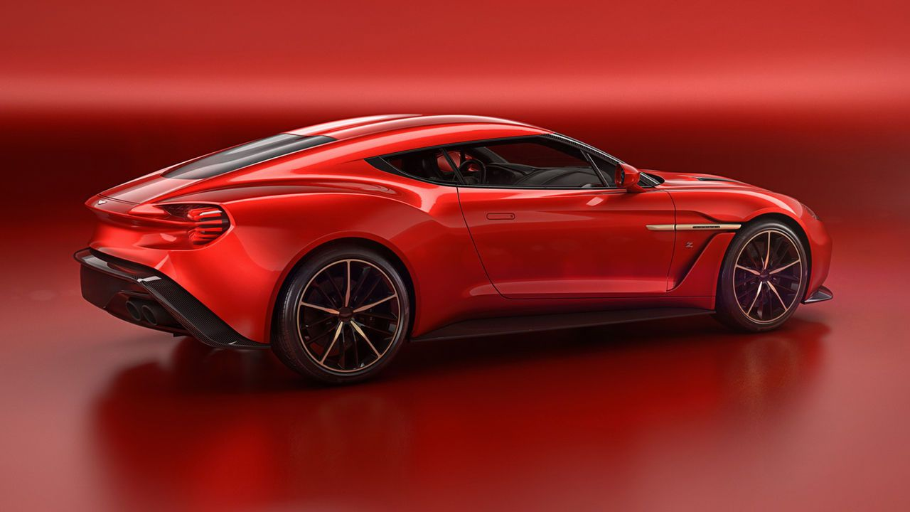 Zagato Har Masserat Nya Aston Martin Vanquish Aston Martin Vanquish Aston Martin Luxury Sports Cars