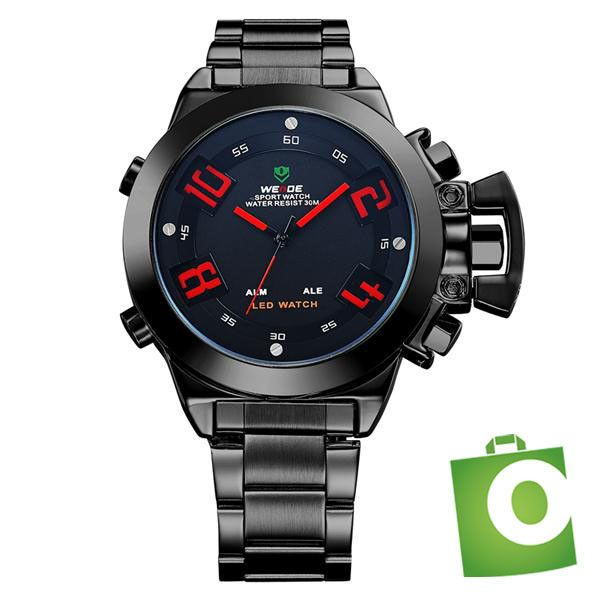 Reloj Led Sport Para Hombre Weide Wh1008b Military Watches Waterproof Clock Watches For Men