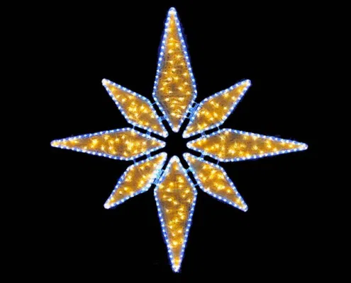 Large Outdoor Lighted Christmas Star For Sale Christmas Star Outdoor Christmas Lights White Led Lights
