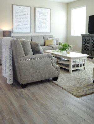 New Floor Reveal Vinyl Plank Flooring Kitchen Driftwood