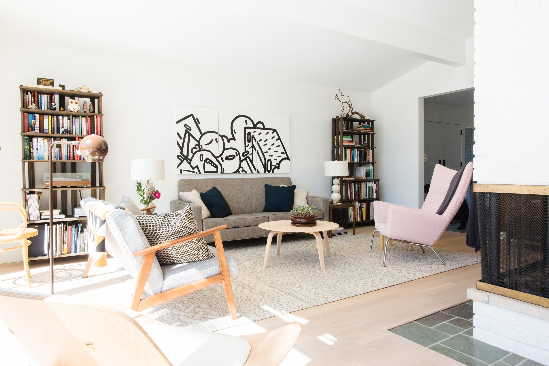 a detroit designer s u201ccollected modern comfort u201d home home rh pinterest com