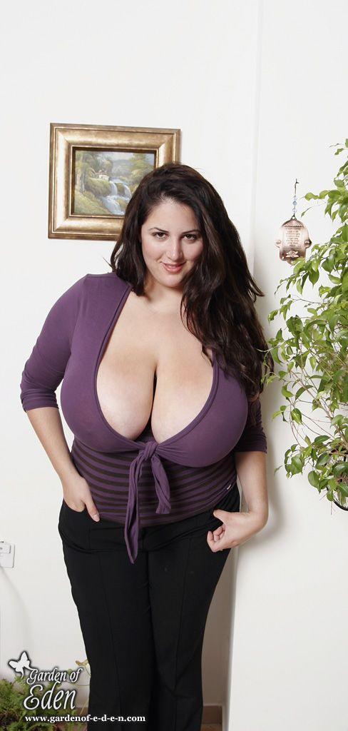 Chubby boobs granny
