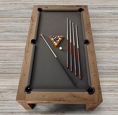 rh s brunswick parsons billiards table pairing clean parsons lines rh pinterest at