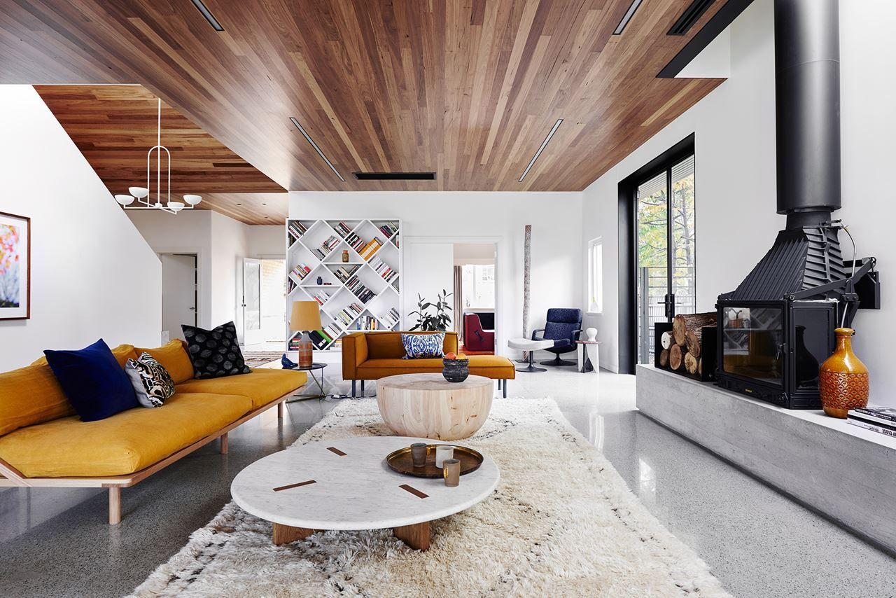 A modern addition to an Art Deco