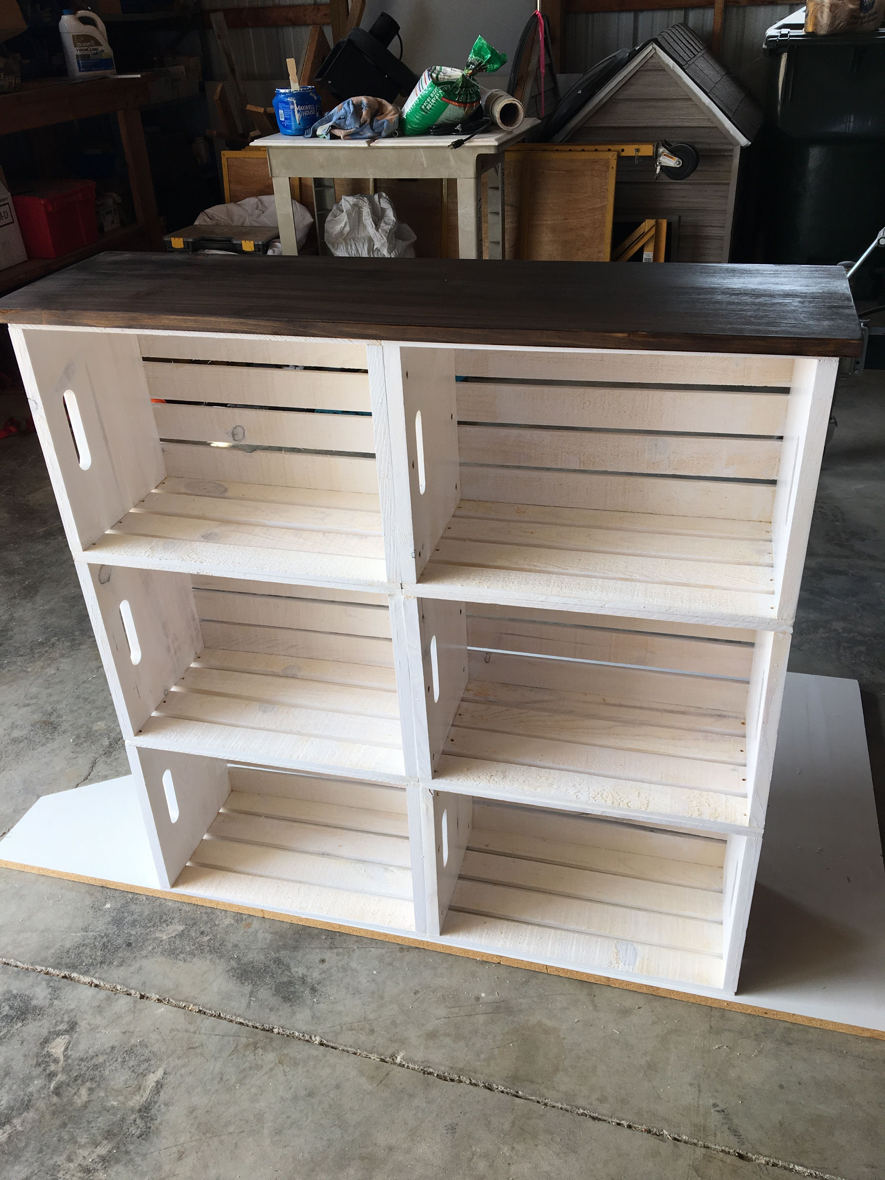 bookcase idea decor diy home decor home decor crate furniture rh pinterest com