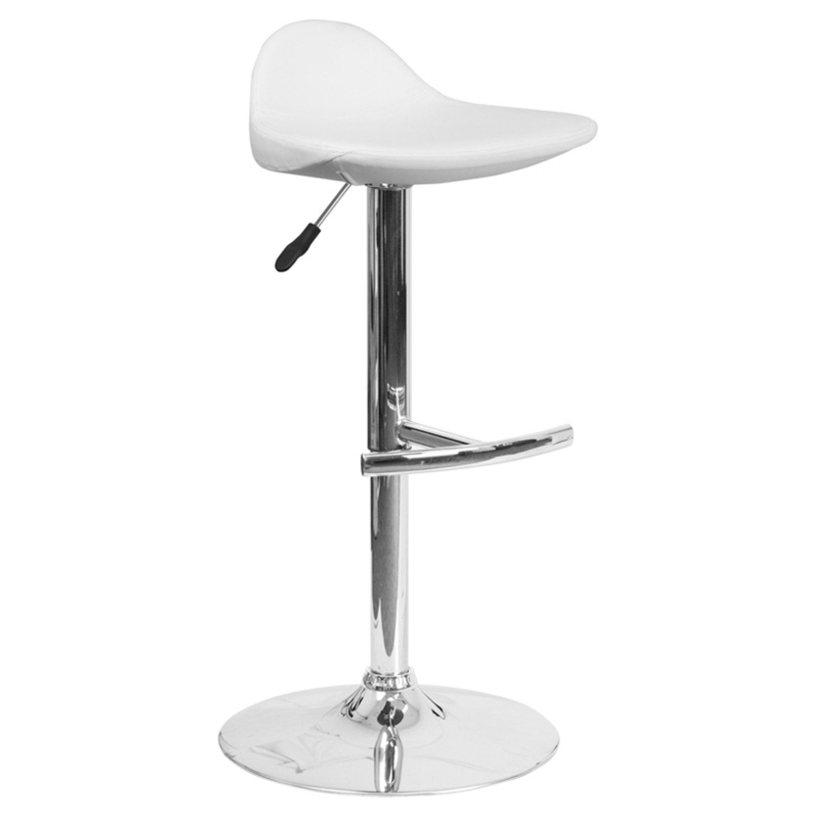 Flash Furniture Contemporary Low Back Saddle Vinyl Adjustable