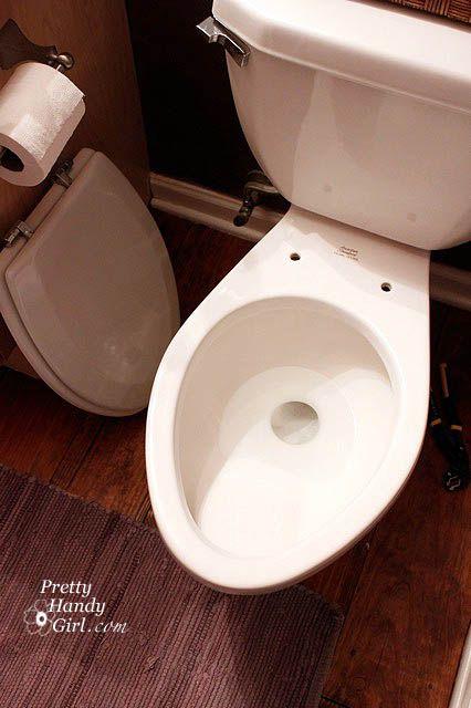 Installing A New Toilet Seat New Toilet Toilet Seat Diy Plumbing