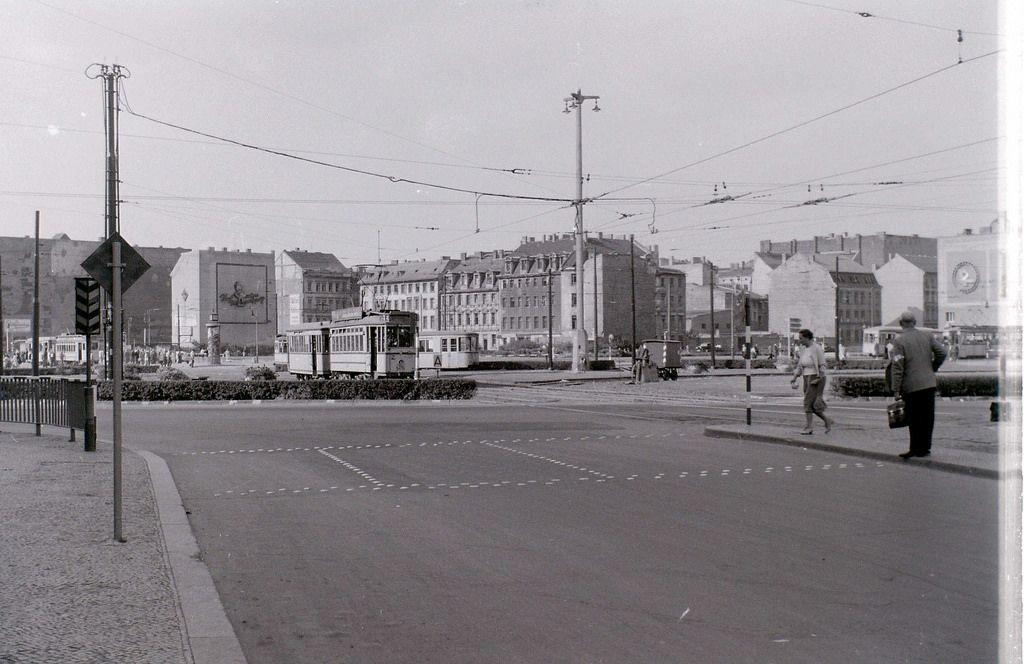 Alexanderplatz East Berlin 8 September 1959 East Berlin Berlin West Berlin