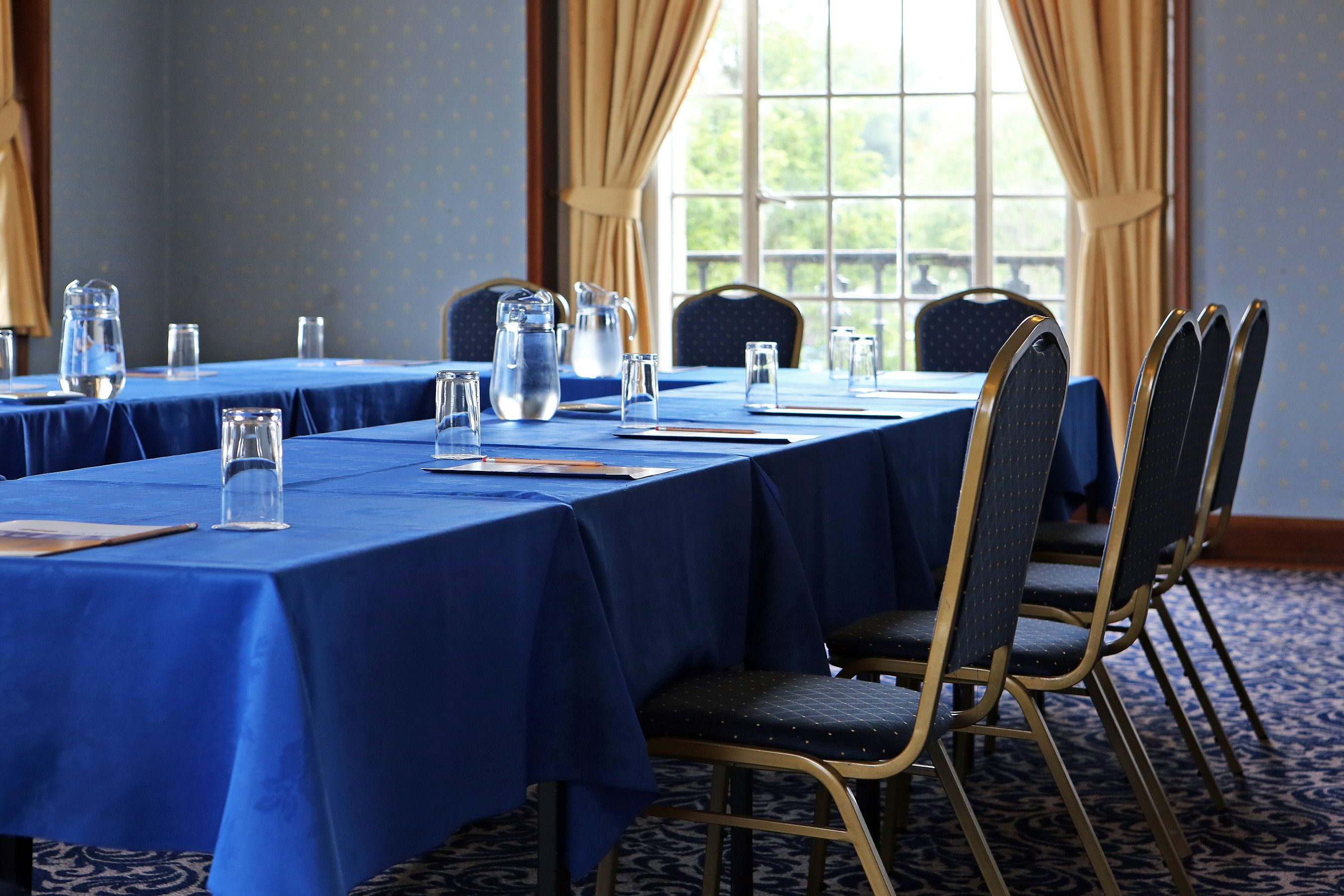 Ideal for business events, the Elizabethan Suite has 3 main spaces and can hold events for 2 - 350 delegates.