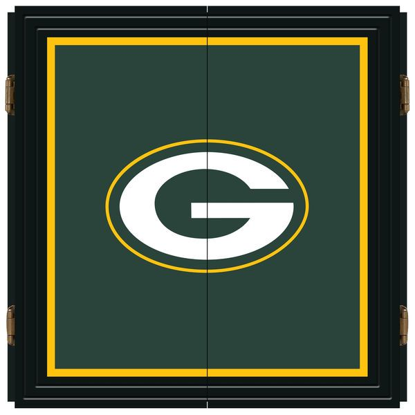 Green Bay Packers Extreme Fan Dart Cabinet Set