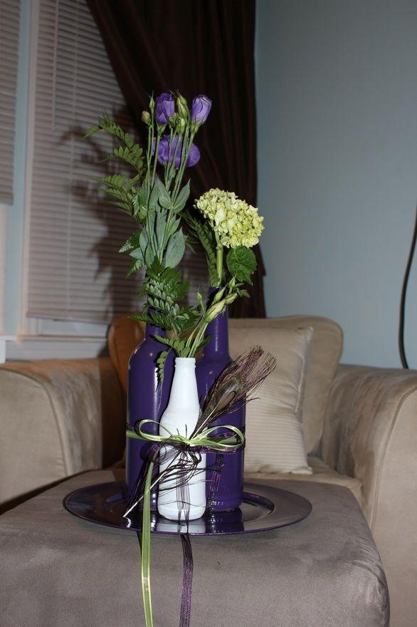 craft ideas homemade bridal shower decoration%0A Bridal shower centerpiece giftscrafts