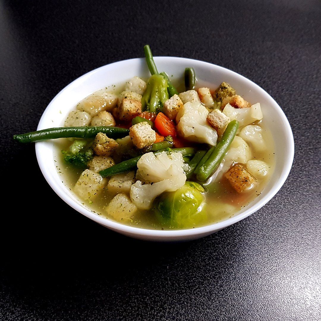 ❝Homemade Vegetable Soup❞ . . . . . .