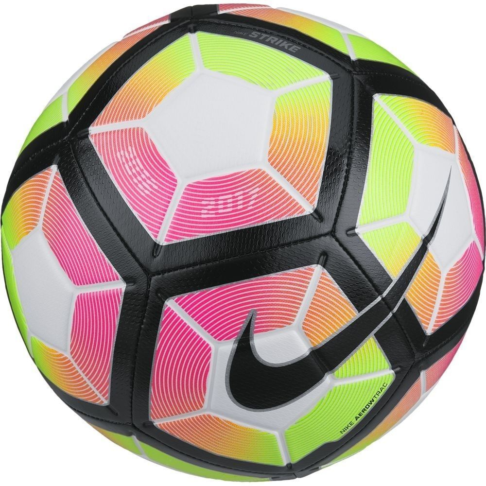 Balls 20863 Nike Strike Ball Size 4 White Pink Blast Black Size 4 Sc2983 100 Buy It Now Only 35 0 On Ebay Nike Soccer Ball Soccer Ball Soccer Balls