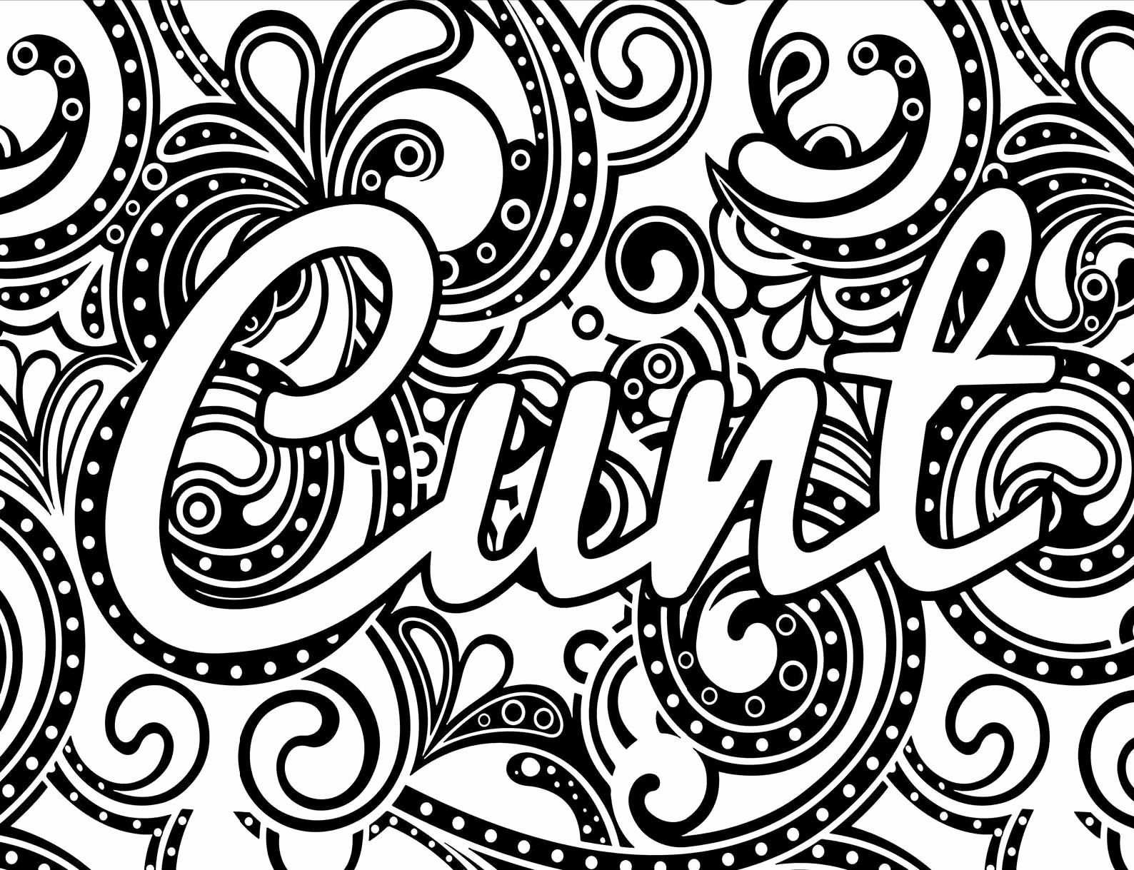 - Adult Cursing Coloring Pages In 2020 Adult Coloring Books Swear