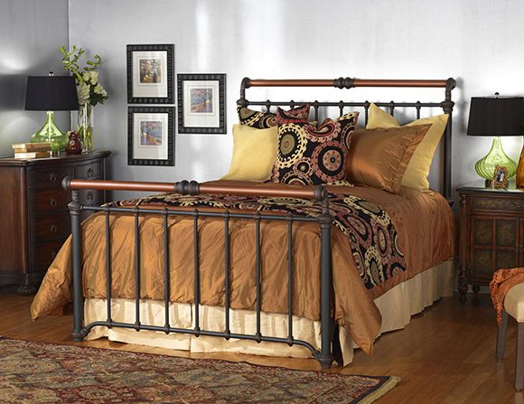 wesley allen sheffield iron bed - King Size Iron Bed Frame