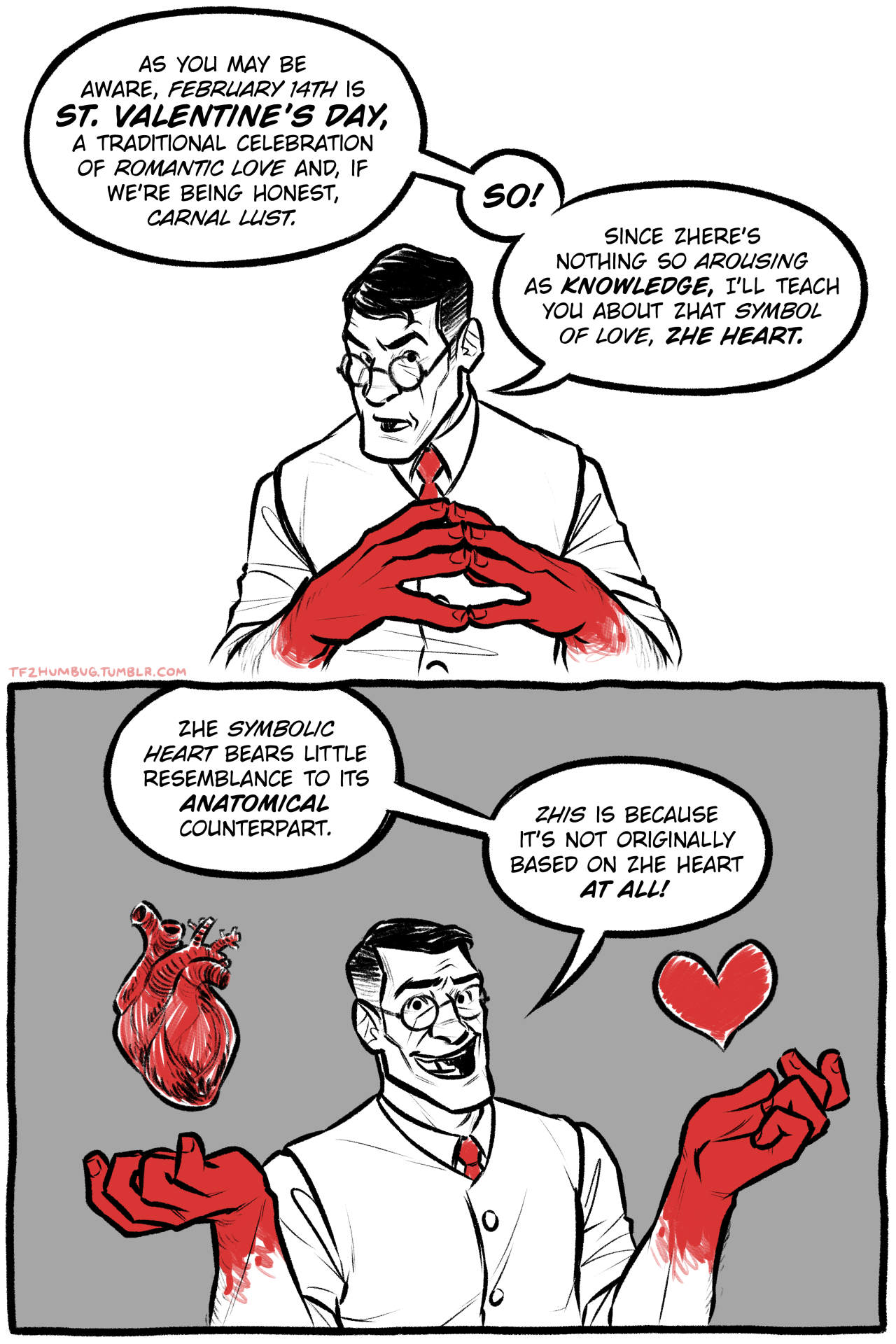 The Medic Explains The Symbolism Of The Heart Games