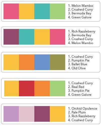 Trendy Colour Combinations Google Search Color Trends Color